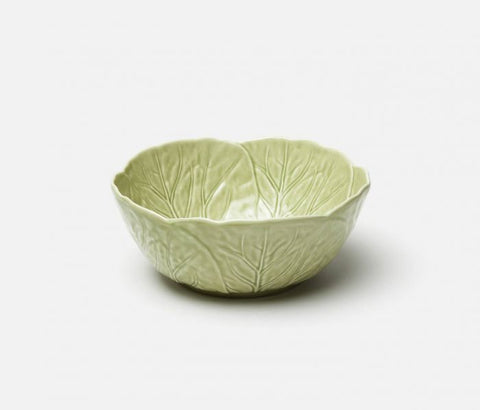 Clarise Soft Green Cabbage Round Serving Bowl