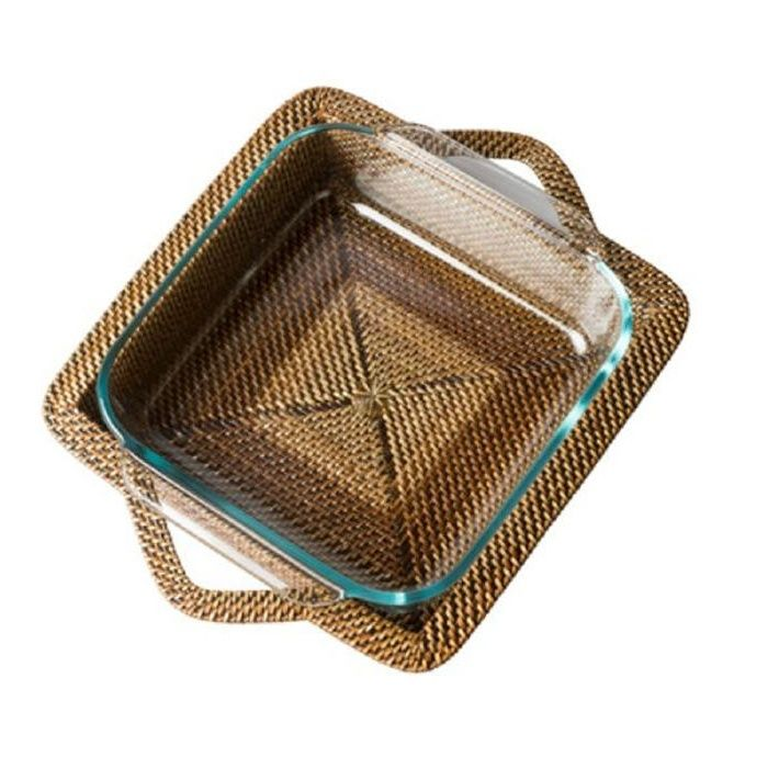 Square Baker with Pyrex