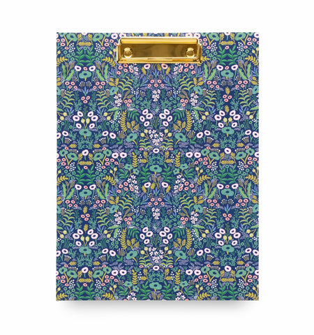 Tapestry Hardcover Clipfolio with Writing Pad