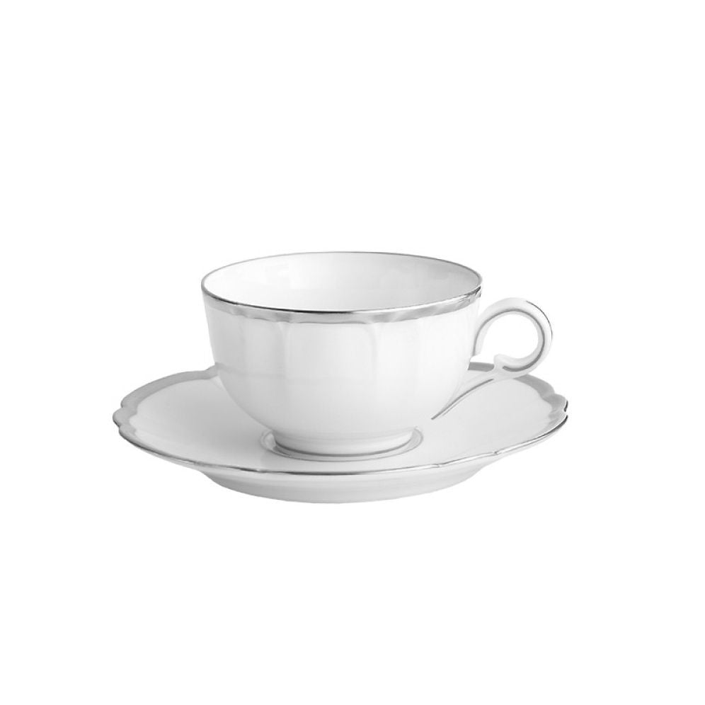 Colette Platinum Cup And Saucer