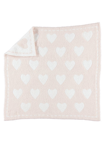 Cozychic Dream Receiving Blanket-Pink/White