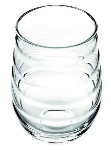 Hiball Balloon Clear Glasses S/2