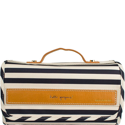 Delilah Striped Toiletry Roll