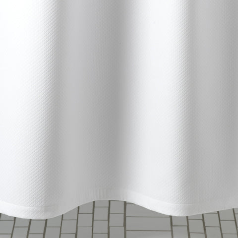 Diamond Pique Shower Curtain