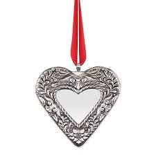 Sterling Silver Annual Heart Ornament, 2nd Edition