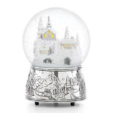 Caroler's Village Lighted Musical Snowglobe