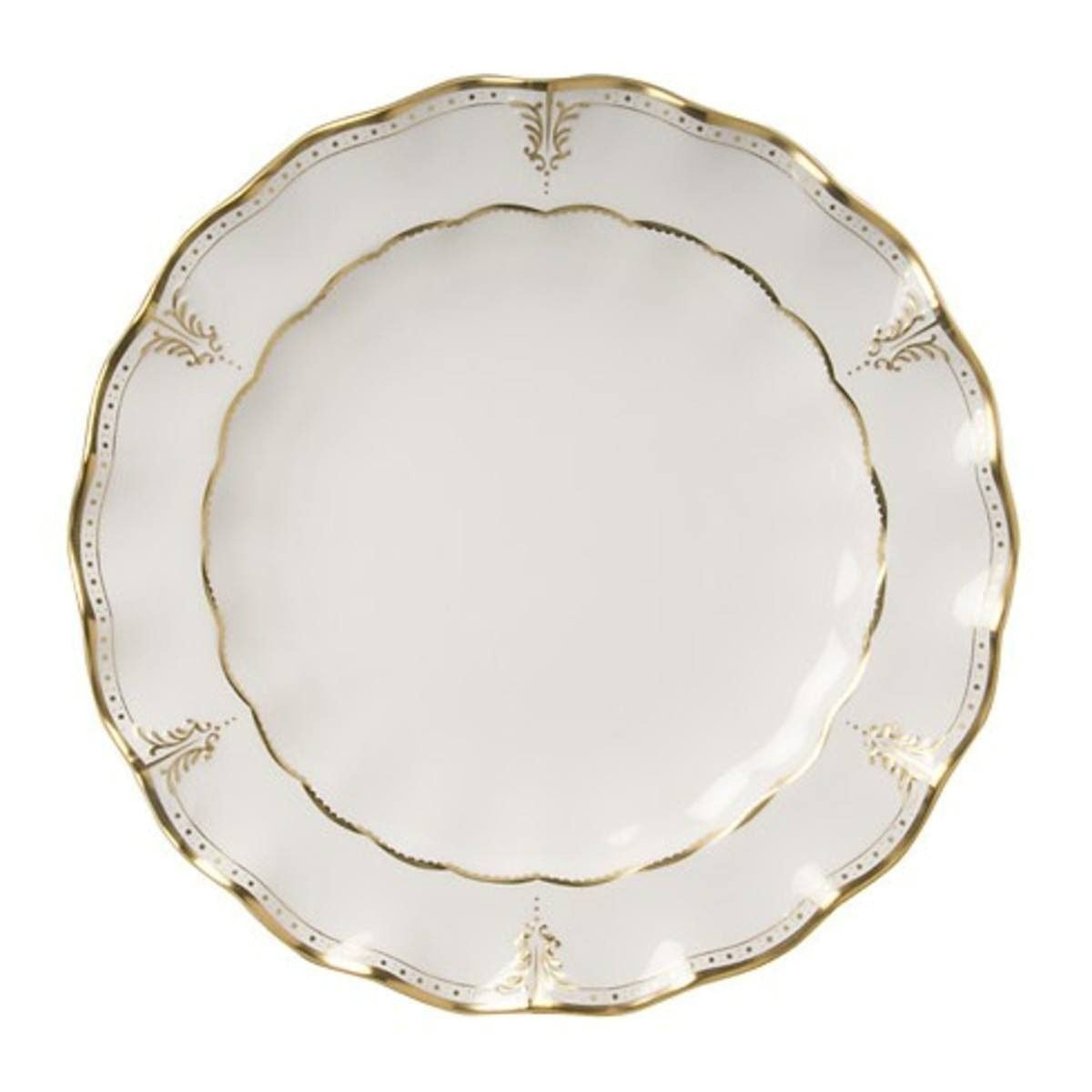 Elizabeth Gold Bread & Butter Plate