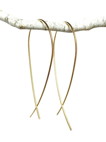 Loop Stick Drop Earrings