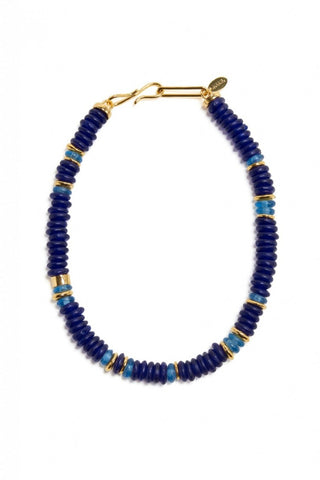 The Laguna Necklace in Cobalt