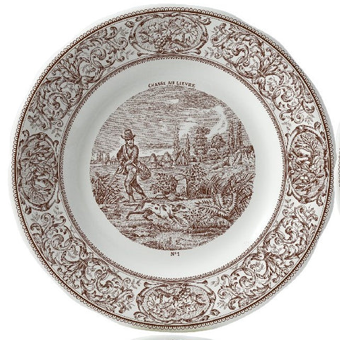 Chasse Assorted Dessert Plates