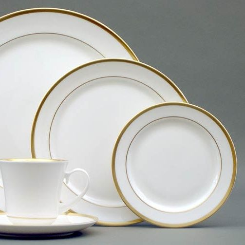 High Point Gold Cup And Saucer