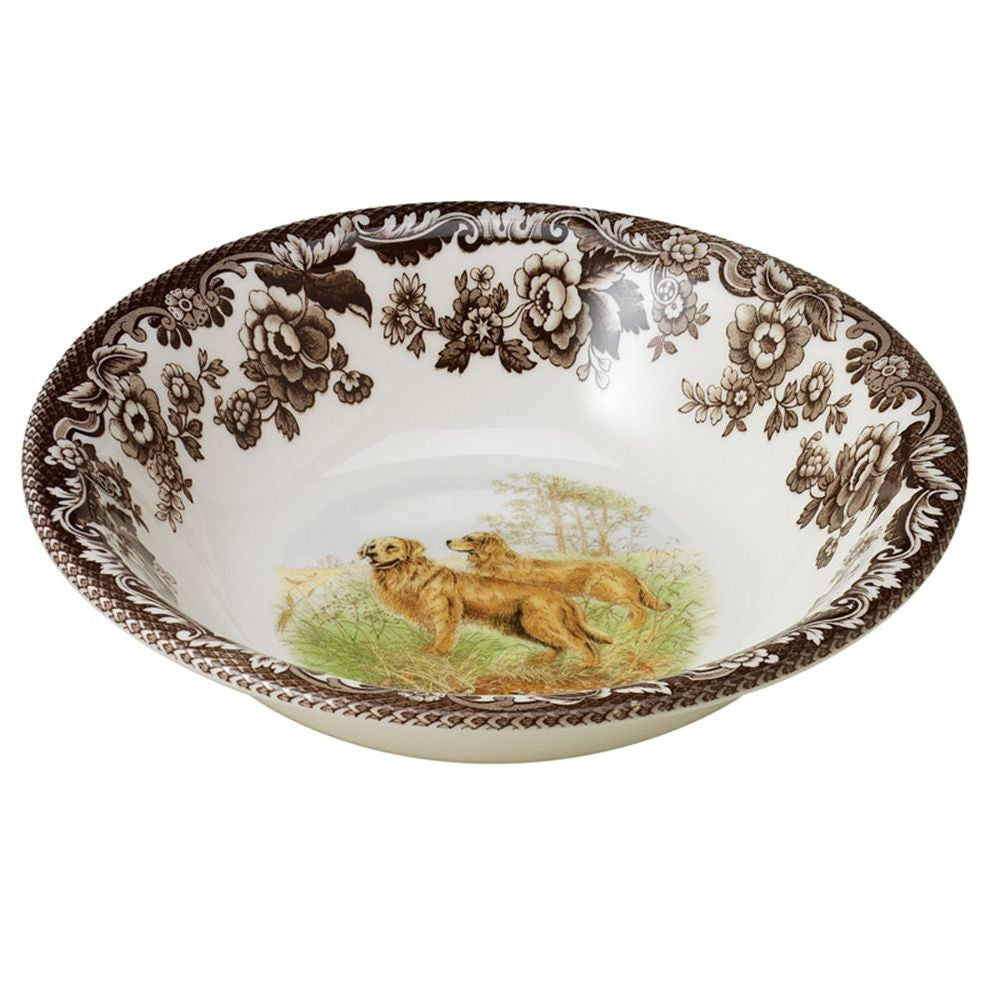 Woodlands Hunting Dogs Cereal Bowl