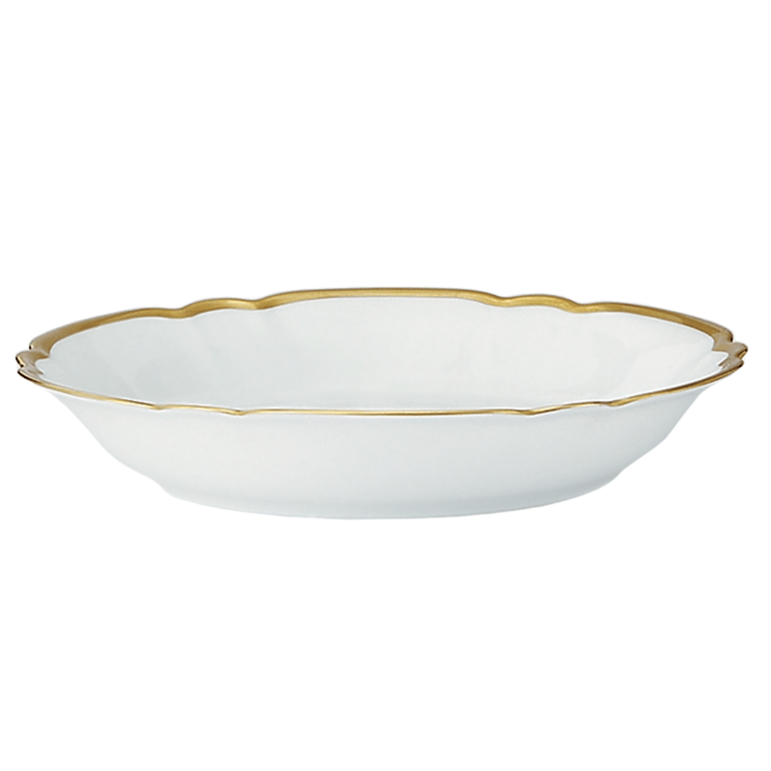 Colette Gold Coupe Soup Bowl