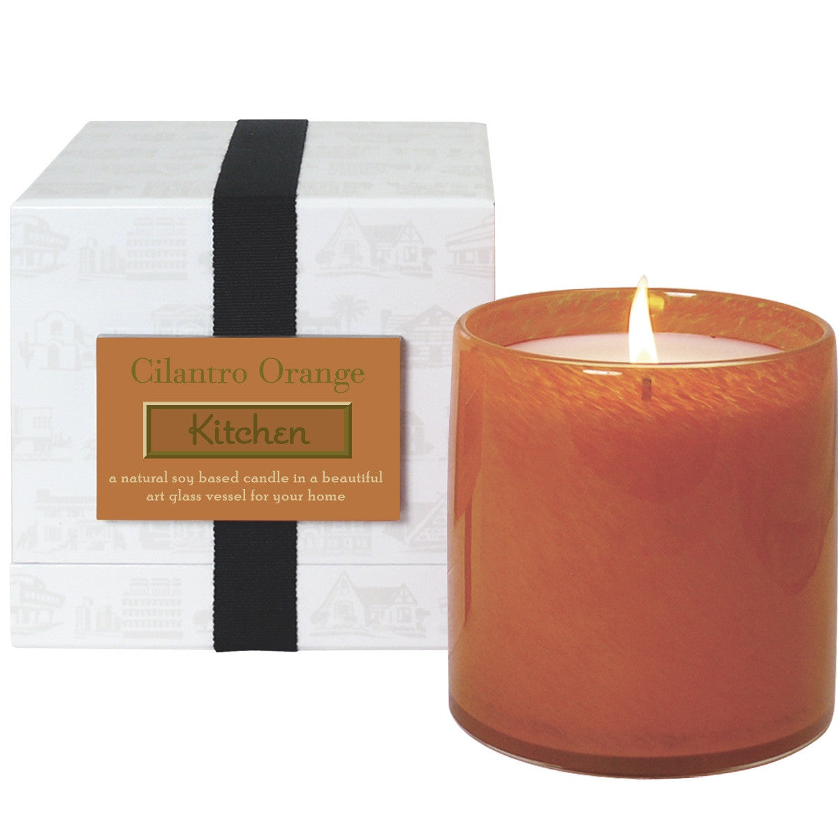 Cilantro Orange Kitchen Candle