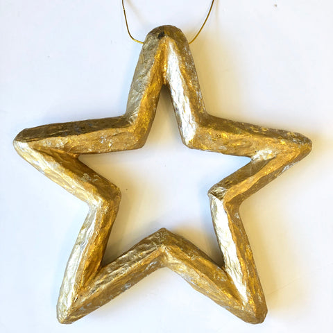 Large Gold & Silver Star