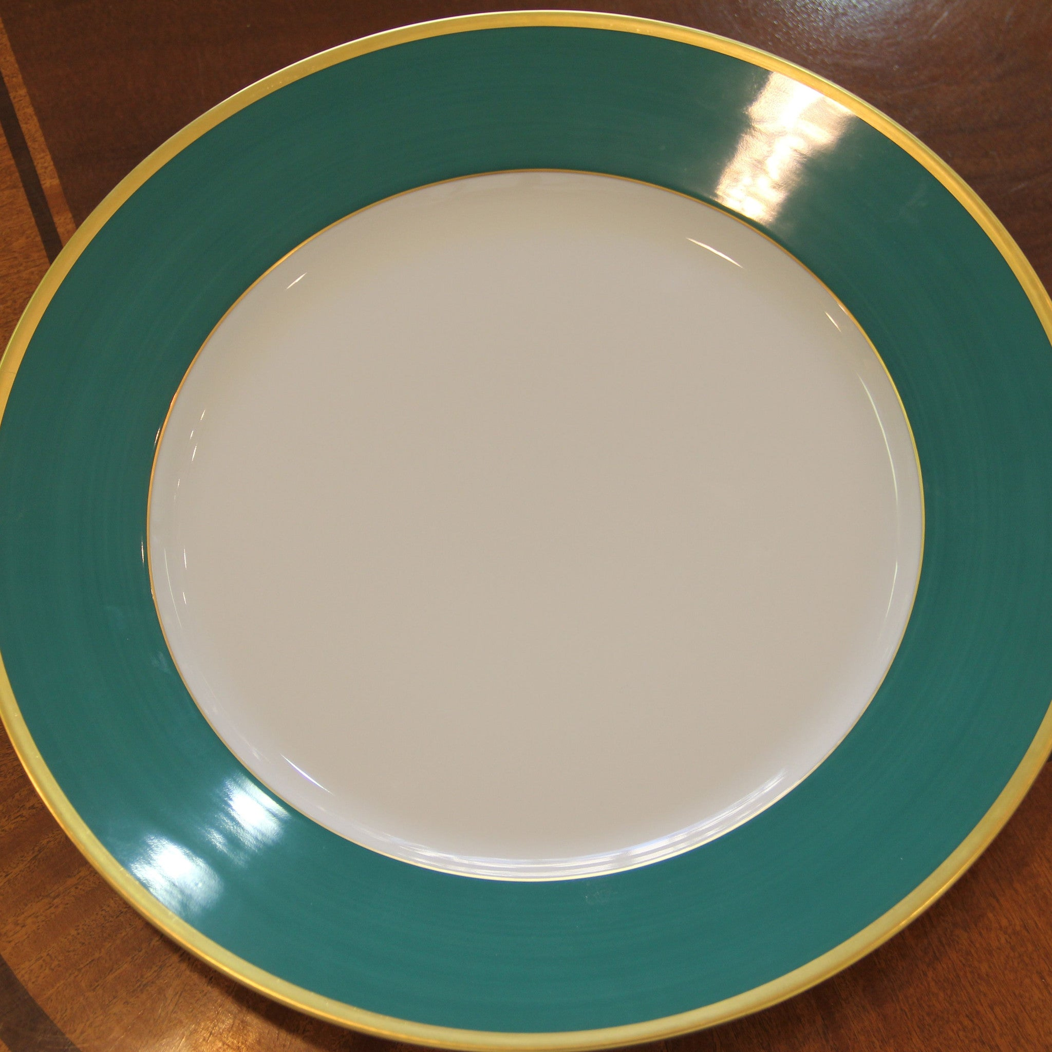 Madison Emerald Dinner Plate