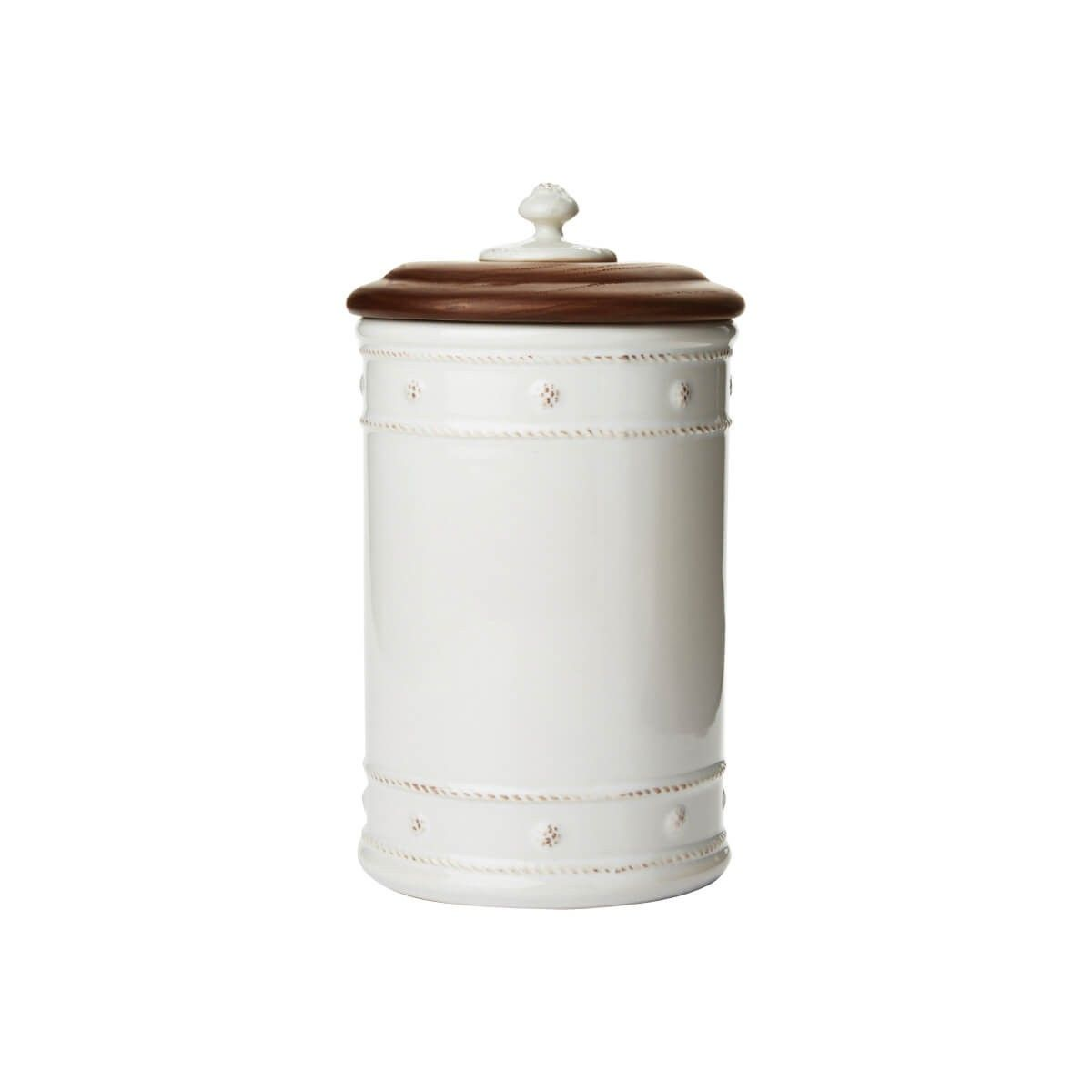 "Berry & Thread Whitewash 10"" Canister"