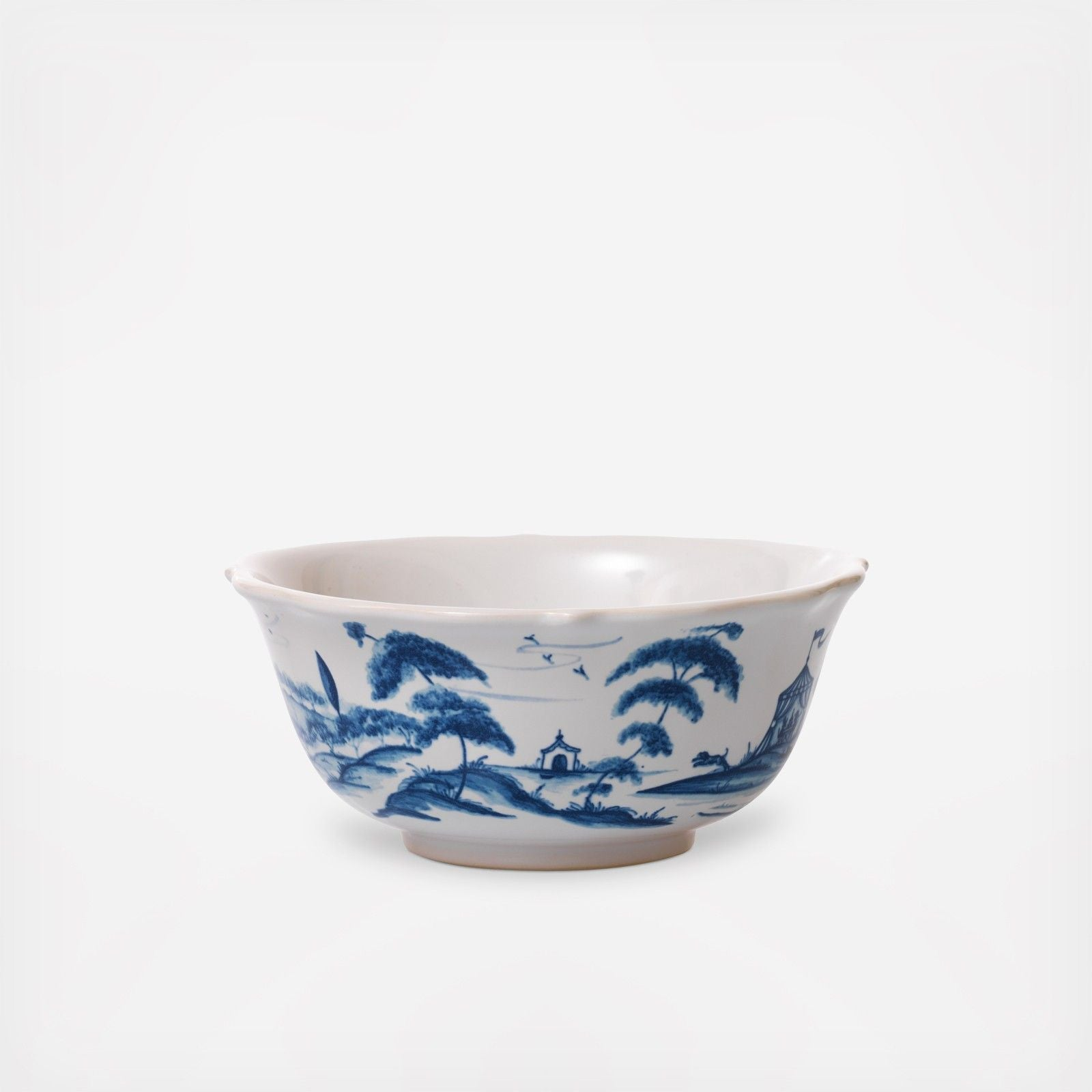 Country Estate Cereal Bowl Delft Blue