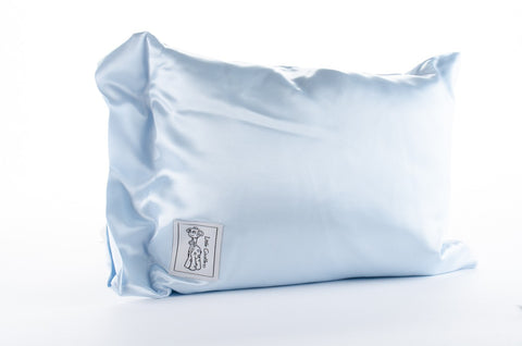 Satin Nap Pillow-Blue