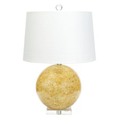 Jamison Yellow Quartz Table Lamp