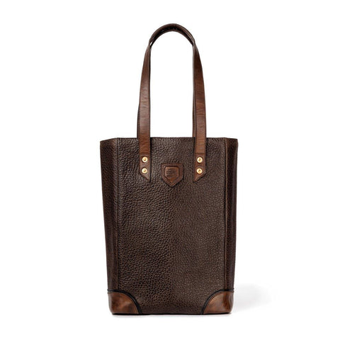 Theodore Leather Wine Tote