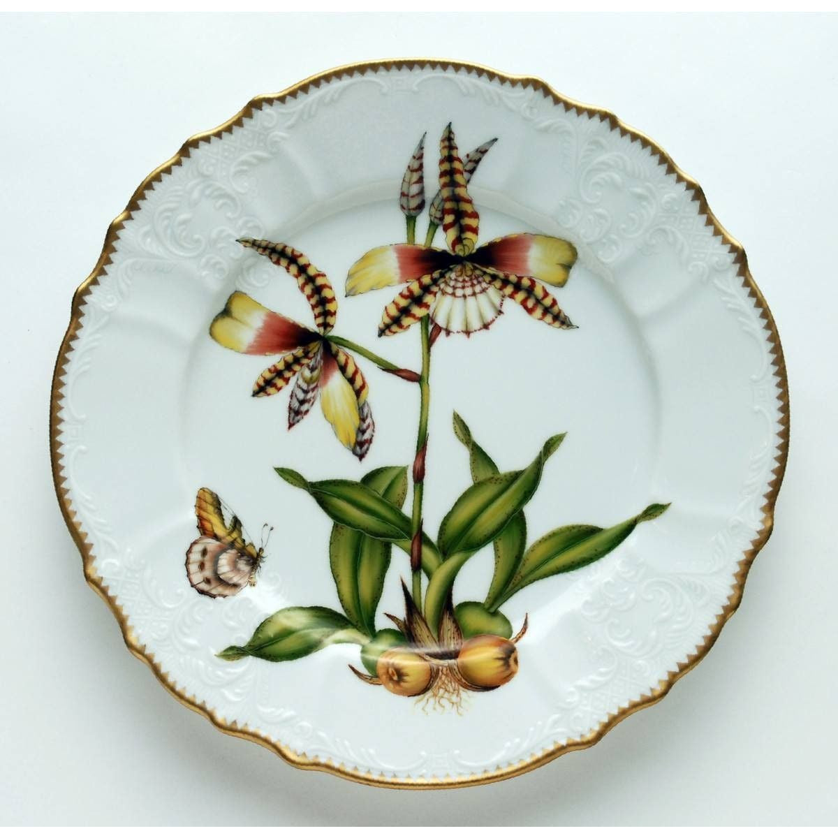 Orchid #4 Dinner Plate