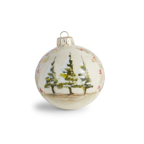Natale Ornament with Trees