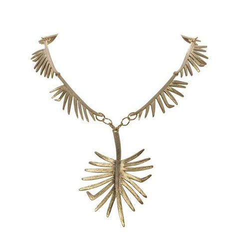 Palmetto Link Pendant Necklace