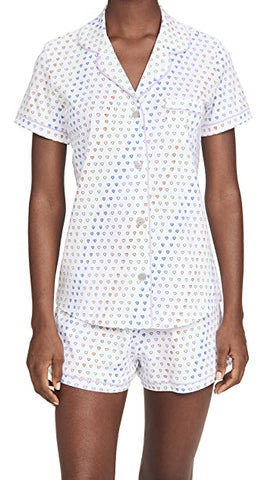 Disco Hearts PJ Polo Set