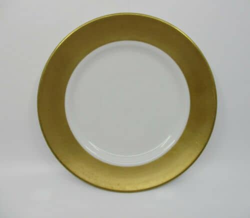 Burnished Florentine Gold Salad Plate
