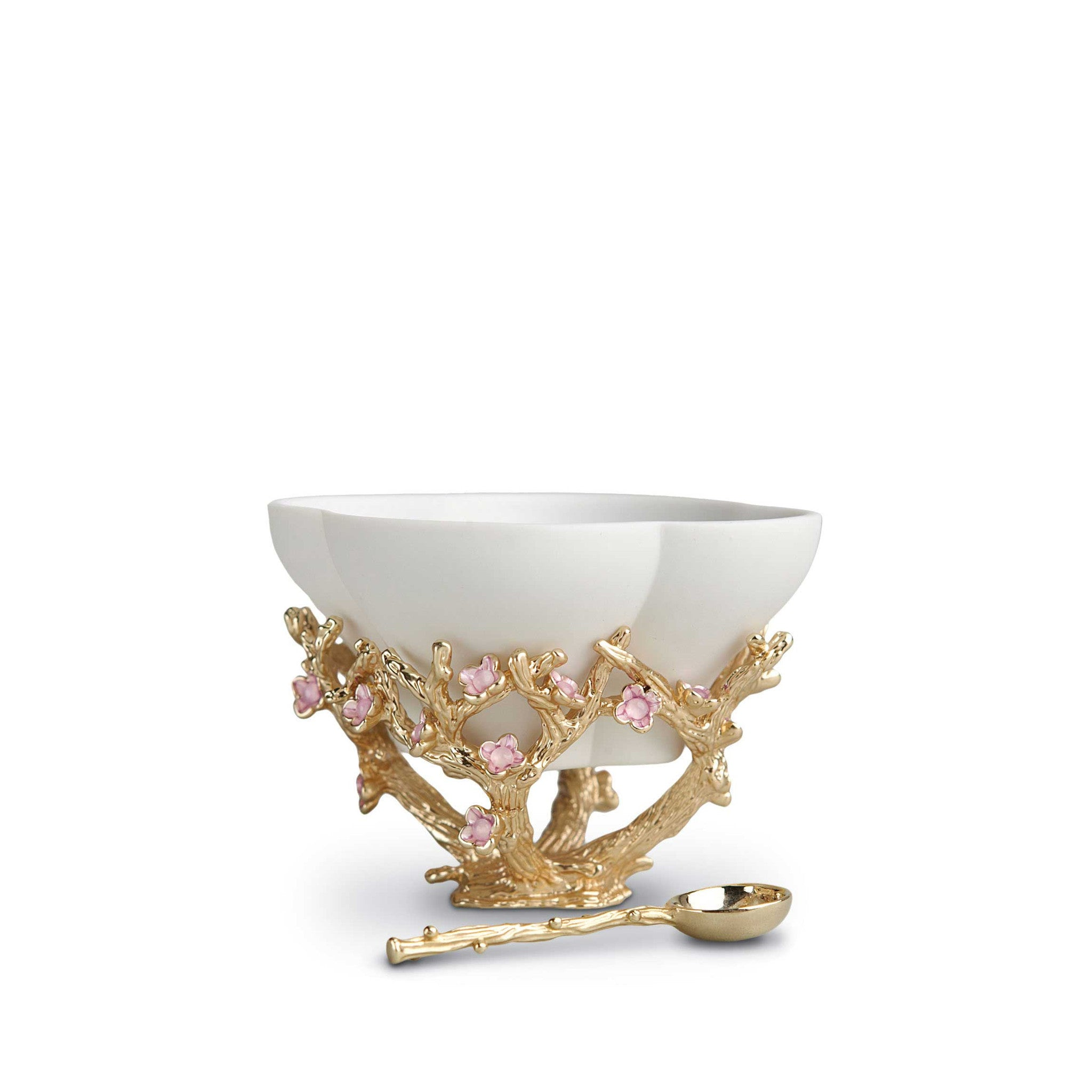 Blossom Bowl Salt Cellar With Spoon
