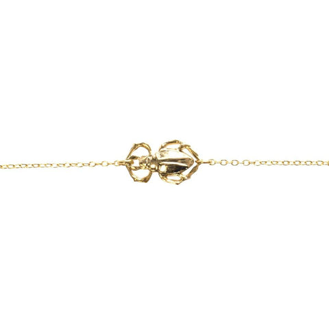 Goldbug Single Bug Bracelet