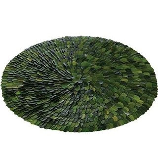 Boxwood Round Placemat