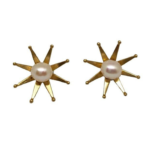 Starry Pearl Studs