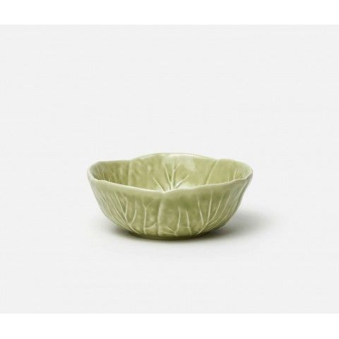 Clarise Soft Green Cabbage Cereal Bowl