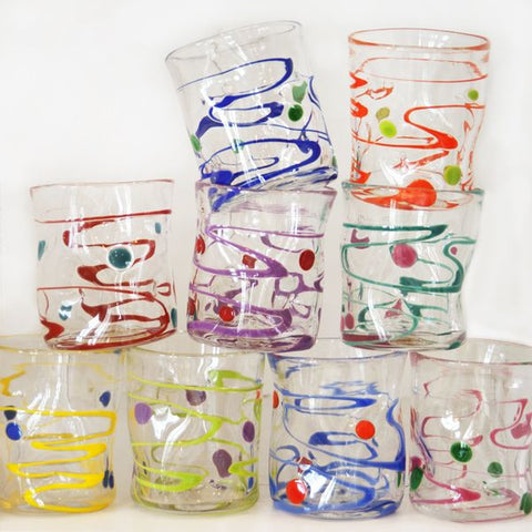 Wackie Glass Tumbler