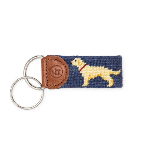 Yellow Lab Keychain