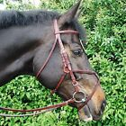Amerigo Vespucci Grackle Bridle with Rubber Reins see  Sizes/Colours Available