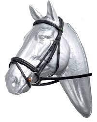 Prestige Flash Bridle - (reins not included) Black Full Size