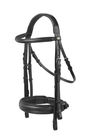 The Prestige Capri Evolution Double Bridle - (including two pairs leather reins) Black Full Size