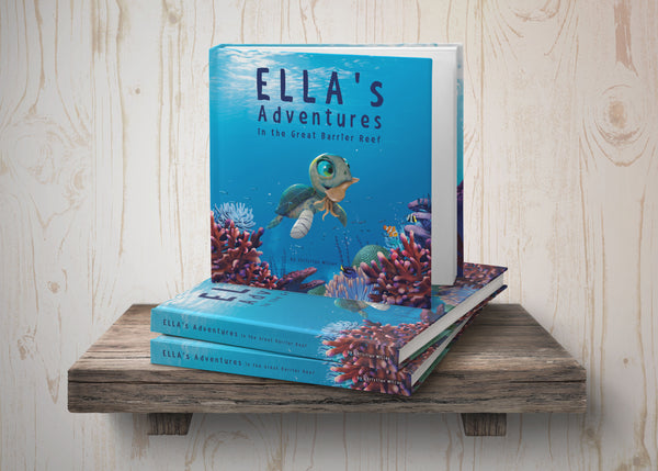 Ella's Adventures in the Great Barrier Reef Book