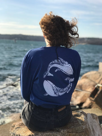 Ocean Alliance Save the Whales Long Sleeve T