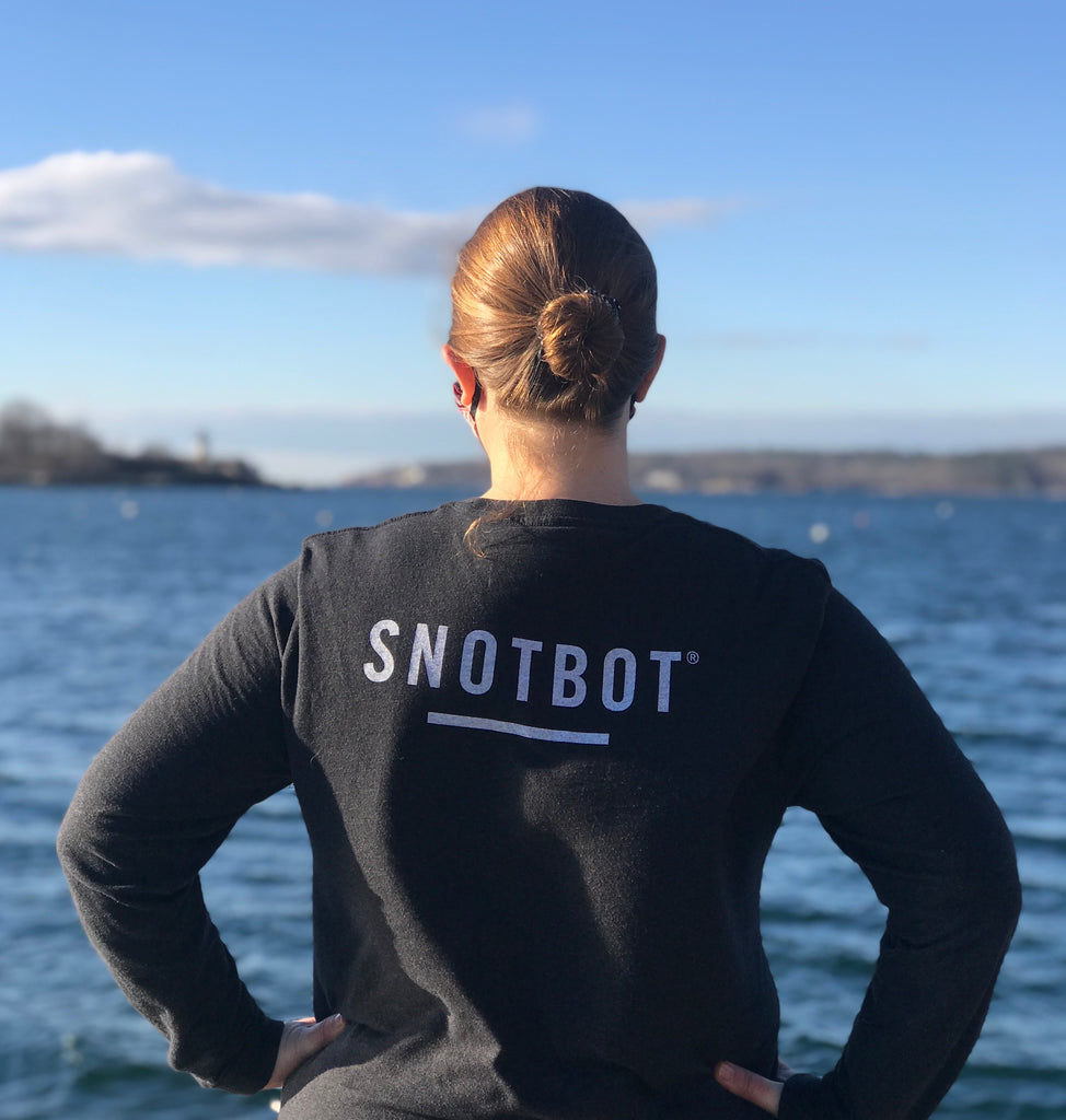 SnotBot unisex long-sleeve expedition T-shirt