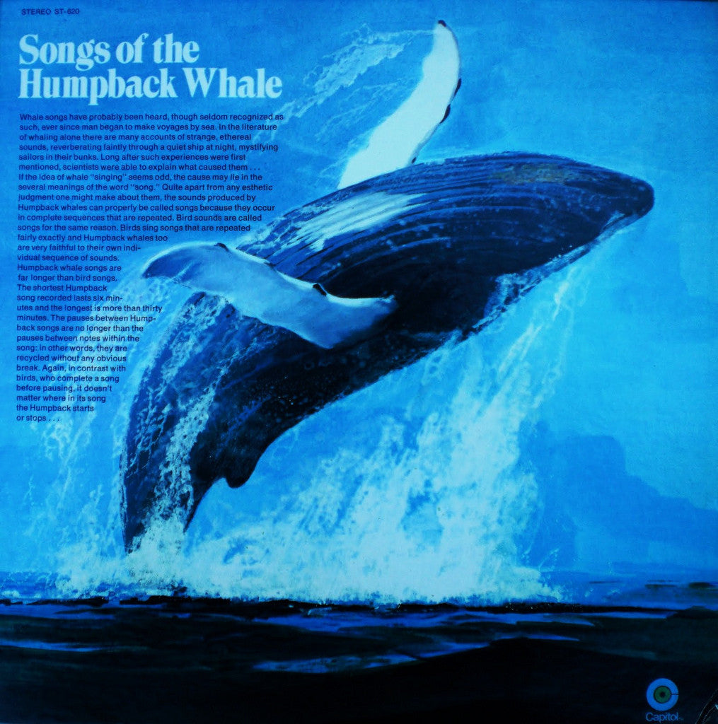 Songs of the Humpback Whale Vinyl Record – Signed By Roger Payne