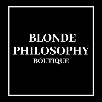 Blonde Philosophy