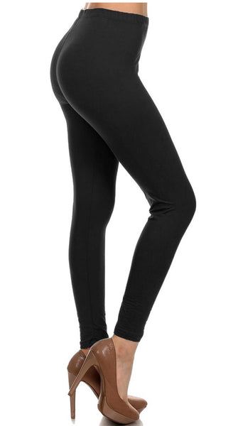***Super Soft*** Full Length Black Leggings