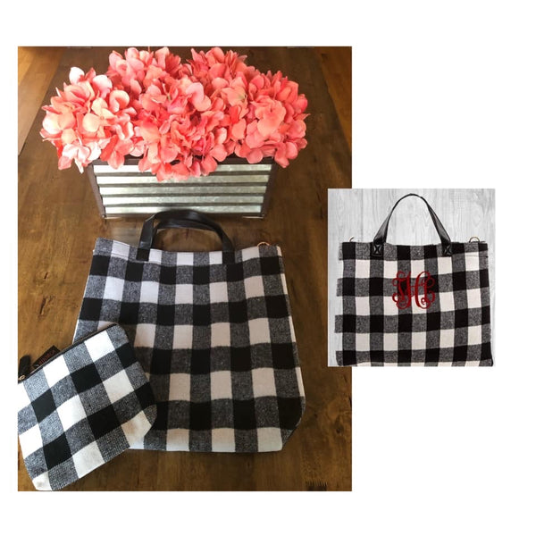 Tote Bag & Cosmetic Case Set