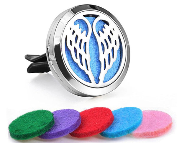 Car Diffuser Locket - Angel Wings