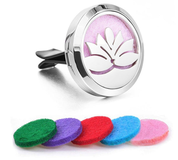 Car Diffuser Locket - Lotus