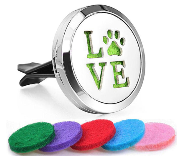 Car Diffuser Locket - Pet Love